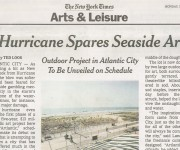 New York Times: Hurricane Spares Seaside Art. Ted Loos. November 4, 2012.